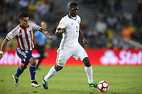 Pasadena, CA - Tuesday June 07, 2016: Colombia defender Cristián Zapata (2) during a Copa America Centenario Group A match between Colombia (COL) and Paraguay (PAR) at Rose Bowl Stadium.