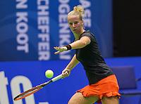 Rotterdam, Netherlands, December 19, 2015,  Topsport Centrum, Lotto NK Tennis, Richel Hogenkamp (NED)<br /> Photo: Tennisimages/Henk Koster