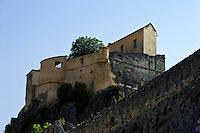 Zitadelle mit Belvedere in Corte, Korsika, Frankreich