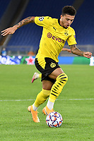 Jadon Sancho of Borussia Dortmund during the Champions League Group Stage F day 1 football match between SS Lazio and Borussia Dortmund at Olimpic stadium in Rome (Italy), October, 20th, 2020. Photo Andrea Staccioli / Insidefoto