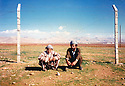 Turkey 1989  In the camp of Mardin, from left to right, Piro Herruli and Mohammed Rashid, refugees of Iraqi Kurdistan<br /> <br /> Turquie 1989  Au camp de Mardin, de gauche a droite, Piro Herruli et Mohammed Rashid, réfugiés kurdes irakiens<br /> <br />    تورکیا 1989 ، که مپی ماردین، له لای چه په وه بو راست: پیرو هیرولی ، محه مه د ره شید  پنابه رانی کوردی عیراقی
