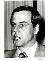 Frederick S Eaton<br /> ' president et CEO, T.EATON Co. Ltd.<br /> , 1 mars 1979<br /> <br /> , 1 mars 1979<br /> <br /> <br /> PHOTO :   Agence Quebec Presse