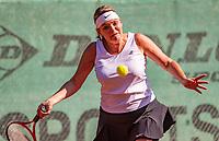 Hilversum, The Netherlands, September 2, 2018,  Tulip Tennis Center, NKS, National Championships Seniors, Womans 45+ final: Carole Beelen (NED)<br /> Photo: Tennisimages/Henk Koster