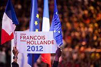 Hollande supporters