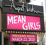 'Mean Girls' - Theatre Marquee