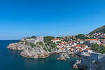 Croatia, Dubrovinik, Fort of St. Lawrence and Pile