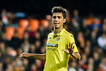 Rodrigo Hernandez Cascante, Rodri, of Villarreal CF gestures during the La Liga 2017-18 match between Valencia CF and Villarreal CF at Estadio de Mestalla on 23 December 2017 in Valencia, Spain. Photo by Maria Jose Segovia Carmona / Power Sport Images