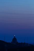Photo aerienne  de l'Oratoire Saint-Joseph<br /> <br /> <br /> PHOTO : Denis Germain<br />  - Agence Quebec Presse