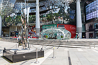 Singapore, Orchard Road MRT Mass Rapid Transit Entry Exit Point, ION Mall.