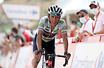 Egan Bernal Gomez (COL) Ineos Grenadiers crosses the finish line in 9th place at the end of Stage 9 of La Vuelta d'Espana 2021, running 188km from Puerto Lumbreras to Alto de Velefique, Spain. 22nd August 2021.     <br /> Picture: Luis Angel Gomez/Photogomezsport   Cyclefile<br /> <br /> All photos usage must carry mandatory copyright credit (© Cyclefile   Luis Angel Gomez/Photogomezsport)