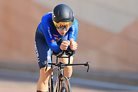 9th September 2021; Trento, Trentino–Alto Adige, Italy: 2021 UEC Road European Cycling Championships, Womens Individual time trials:  Elena CECCHINI (ITA)