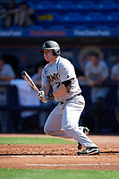 Army West Point Garrett Houston (26) at bat during a game against the Michigan Wolverines on February 17, 2018 at First Data Field in St. Lucie, Florida.  Army defeated Michigan 4-3.  (Mike Janes/Four Seam Images)