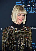 "LOS ANGELES, USA. December 17, 2019: Jaime King at the world premiere of ""Star Wars: The Rise of Skywalker"" at the El Capitan Theatre.<br /> Picture: Paul Smith/Featureflash"
