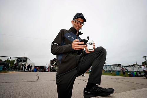 #66: Gradient Racing Acura NSX GT3, GTD:  HPD Lead Engineer Lee Niffenegger