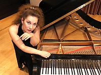 Miroslava Panayotova, a pianist from Fayetteville, is one of 22 Northwest Arkansas artists who participated in Artist Inc. from July 21 to Sept. 8, 2020.