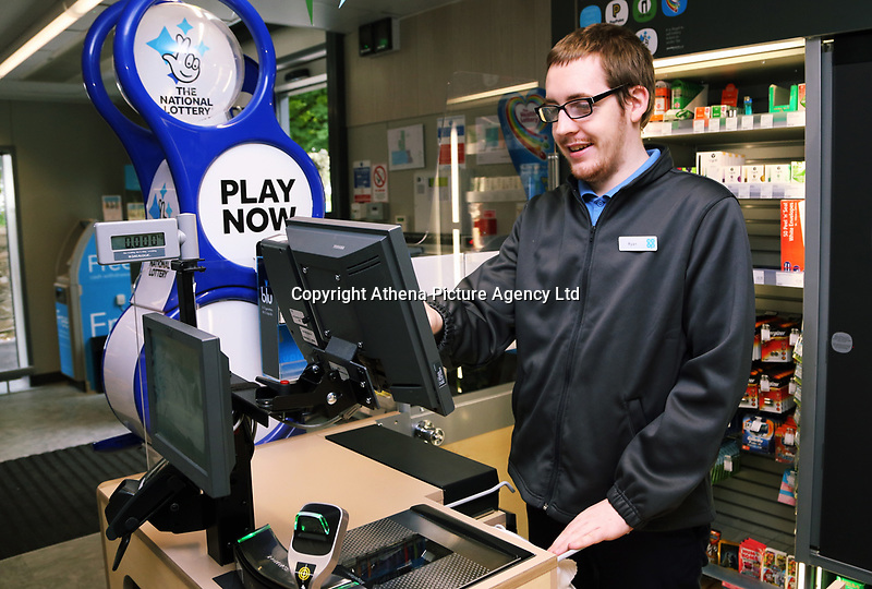 Ryan Carroll customer services assistant
