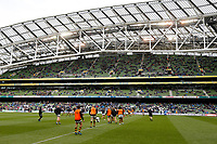 Photo: Richard Lane/Richard Lane Photography. Leinster Rugby v Wasps.  European Rugby Champions Cup Quarter Final. 01/04/2017. Wasps warm up.