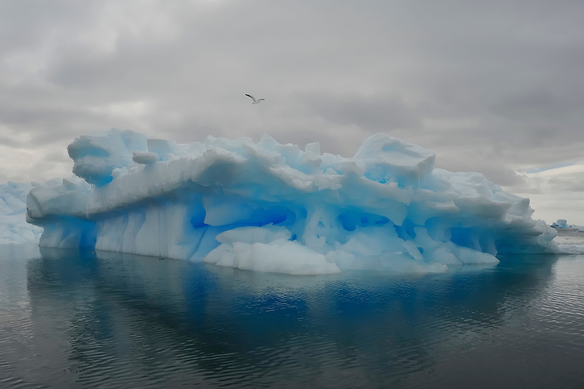 Blue Caves II - Fantasical ice at Planeau Island