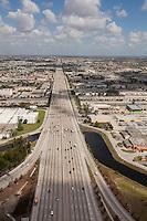 Florida turnpike, Highway aerial, Miami, FL