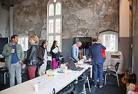 12-09-12, Netherlands, Amsterdam, Tennis, Daviscup Netherlands-Swiss, Press-center