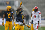 West Virginia Mountaineers linebacker David Long Jr. (11) in action during the Zaxby's Heart of Dallas Bowl game between the Utah Utes vs. West Virginia Mountaineers at the Cotton Bowl Stadium in Dallas, Texas.