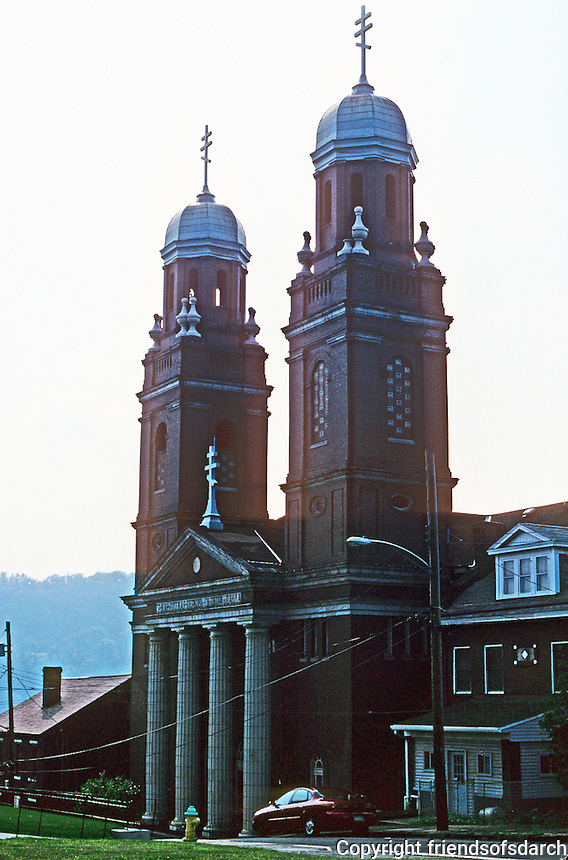 Pittsburgh: Braddock, St. Peter and St. Paul Greek Orthodox Church. Photo 2001.