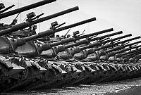 - NATO exercises in Friuli (northern Italy), Italian Army M 60 tank (September 1981)....- esercitazioni NATO in Friuli (Italia settentrionale), carri armati M 60 dell' Esercito Italiano (settembre 1981)