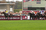 Arc de Triomphe in Paris.  Sea of the Stars (Irl) wins the race. Jockey MJ Kinane, Owner : Christopher Tsui. 2nd place :Youmzain, 3rd place : Cavalryman