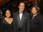 From left: Juana Collins with Carl and Sherea Poston at the UNCF 21at Annual Black Tie Gala at the Hilton Americas Hotel Friday Dec. 04,2009. (Dave Rossman/For the Chronicle)