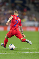 SAINT PAUL, MN - JUNE 18: Paul Arriola of the United States during a 2019 CONCACAF Gold Cup group D match between the United States and Guyana on June 18, 2019 at Allianz Field in Saint Paul, Minnesota.