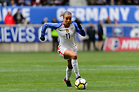 Harrison, NJ - Sunday March 04, 2018: Mallory Pugh during a 2018 SheBelieves Cup match match between the women's national teams of the United States (USA) and France (FRA) at Red Bull Arena.