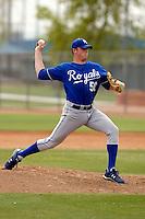 Sam Runion  - Kansas City Royals - 2009 spring training.Photo by:  Bill Mitchell/Four Seam Images
