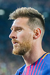 Lionel Andres Messi of FC Barcelona reacts during the La Liga 2017-18 match between FC Barcelona and SD Eibar at Camp Nou on 19 September 2017 in Barcelona, Spain. Photo by Vicens Gimenez / Power Sport Images