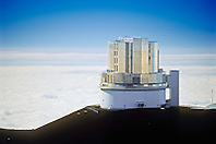 Subaru Telescope, National Astronomical Observatory of Japan, Mauna Kea Observatories, Mauna Kea summit, Big Island, Hawaii, USA
