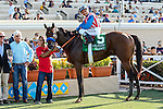 DEL MAR, CA  AUGUST 13:  #5 Klimt ridden by Rafael Bejarano in the winners circle after winning the Best Pal Stakes (Gll) at Del Mar Turf Club on August 13, 2016 at  Del Mar, CA (Photo by Casey Phillips/Eclipse Sportswire/Getty Images)DEL MAR, CA  AUGUST 13:  at Del Mar Turf Club on August 6, 2016 at Del Mar, CA (Photo by Casey Phillips/Eclipse Sportswire/Getty Images)
