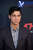 "LOS ANGELES, USA. August 14, 2019: Davi Santos at the premiere of ""47 Meters Down: Uncaged"" at the Regency Village Theatre.<br /> Picture: Paul Smith/Featureflash"