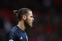 David De Gea of Manchester United during the Premier League match between Manchester United and Swansea City at the Old Trafford, Manchester, England, UK. Saturday 31 March 2018