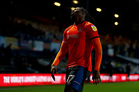 31st October 2020; Kenilworth Road, Luton, Bedfordshire, England; English Football League Championship Football, Luton Town versus Brentford; A dejected Pelly Ruddock of Luton Town