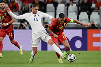 Adrien Rabiot of France and Eden Hazard of Belgium during the Uefa Nations League semi-final football match between Belgium and France at Juventus stadium in Torino (Italy), October 7th, 2021. Photo Andrea Staccioli / Insidefoto