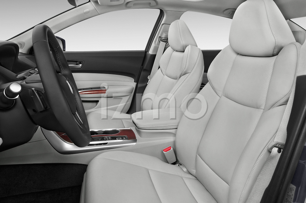 Front seat view of 2015-2017 Acura TLX Technology 4 Door Sedan front seat car photos