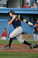 September 1, 2009:  Justin Byler of the State College Spikes during a game at Frontier Field in Rochester, NY.  State College is the NY-Penn League affiliate of the Pittsburgh Pirates.  Photo By Mike Janes/Four Seam Images