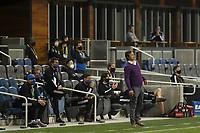 SAN JOSE, CA - OCTOBER 07: San Jose Earthquakes head coach Matias Almeyda during a game between Vancouver Whitecaps and San Jose Earthquakes at Earthquakes Stadium on October 07, 2020 in San Jose, California.
