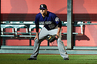 Colorado Rockies outfielder Andrew Brown #12 during a National League regular season game against the Arizona Diamondbacks at Chase Field on October 3, 2012 in Phoenix, Arizona. Colorado defeated Arizona 2-1. (Mike Janes/Four Seam Images)