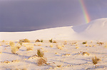 Rainbow, White Sands NM, New Mexico, USA