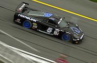 The #5 Rocketsports Saleen S7R races into turn 1..39th Rolex 24 at Daytona, 3/4 February,2001 Daytona International Speedway  Daytona Beach,Florida,USA.©F.Peirce Williams 2001 ..