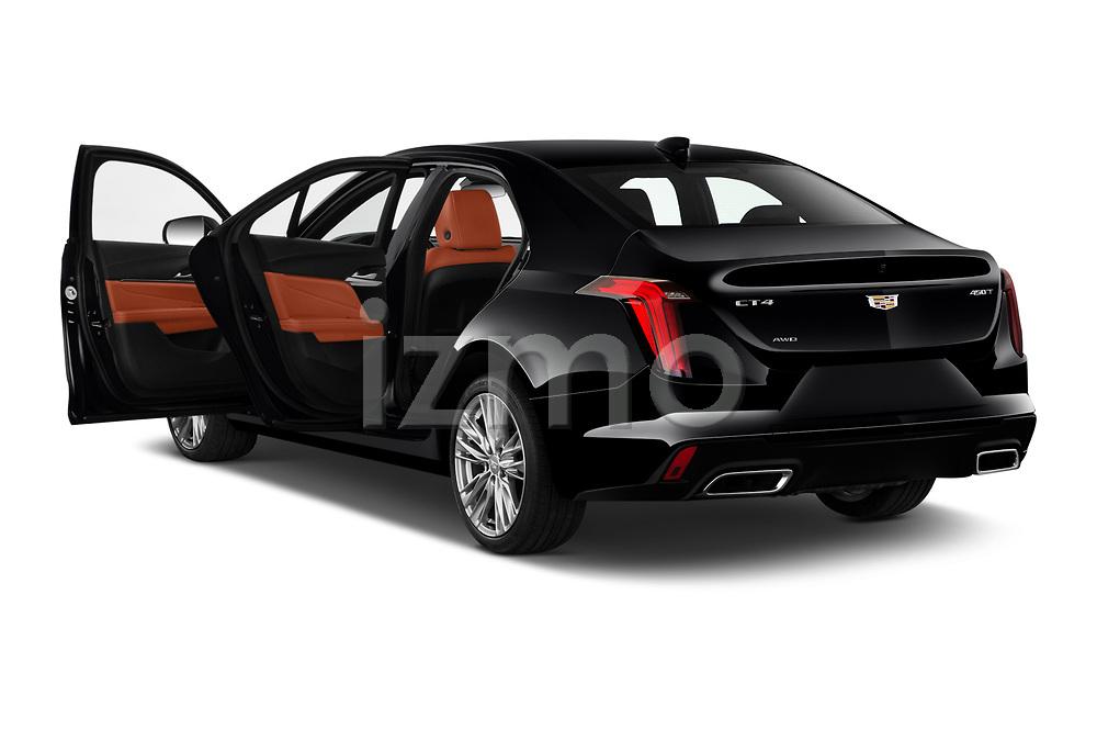 Car images of 2020 Cadillac CT4 Premium-Luxury 4 Door Sedan Doors