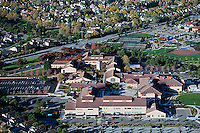 aerial photograph Santa Rosa Community College, Petaluma Campus, California