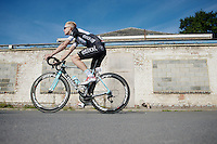 Julien Vermote (BEL/OmegaPharma-Quickstep) to the start<br /> <br /> stage 1<br /> Euro Metropole Tour 2014 (former Franco-Belge)