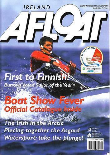 David Burrows of Malahide, Sailor of the Year 2000