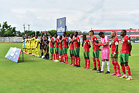 TULUÁ- COLOMBIA, 29-08-2021: Cortuluá y Leones en partido por la fecha 6 del Torneo BetPlay DIMAYOR II 2021 jugado en el estadio Doce de Octubre de la ciudad de Tuluá. / Tulua and Leones in match for the date 6 as part of BetPlay DIMAYOR Tournament II 2021 played at Doce de Octubre stadium in Tulua city. Photo: VizzorImage / Jorge Rotavinsky / Contribuidor